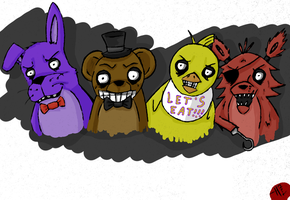 Five Nights at Freddy's by HaleyKlineArt