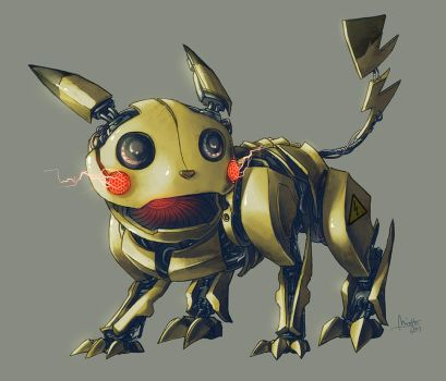 Robochu by TheMinttu
