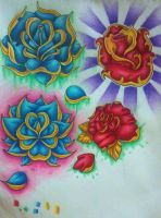 Flower Designs by TwistedxDesign