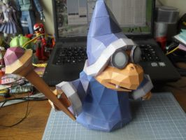 Papercraft - Magikoopa 01 by ckry
