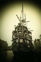 The pirate ship by Anlin
