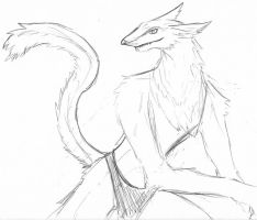 Arron's a Sergal? by Corrupted36