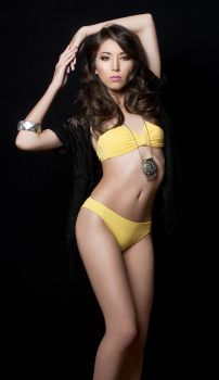 Yellow Swimsuit by IDiivil-Official