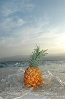 escaping pineapple by afflictedyard