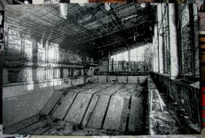 Pripyat Swimming Pool by stillalivechenko