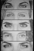 MCR eyes by umbrellaXbrigade