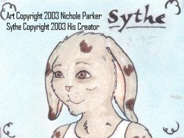 Sythe - Conbadge by kendravixie