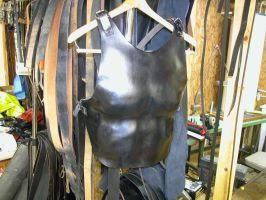 Leather breastplate armor by GriffinLeather