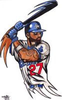 Matt Kemp by Artfire74