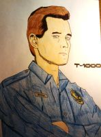 Robert Patrick - T1000 by JokerfiedCrane