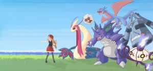 Pokemon by andrerb