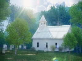 Church in the mountains_update by DartP