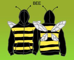 Bee costume by JackHook