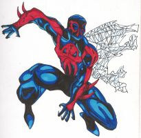 Spiderman 2099 by senkawolf