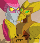 Art Trade: People of Science by locoexclaimer