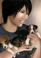 For Jessy Gackt's Puppies by japanmeonly