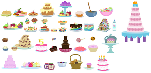 Sweets Accessory Set by SelenaEde