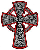 Celtic Cross Tattoo by Annikki