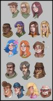 MARDEK Portraits: Collect Them All!!! by Pseudolonewolf