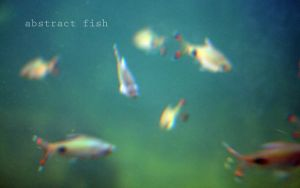 Abstract fish by Yanyna