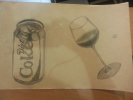Cup and Coke by richard130597