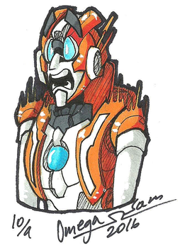 Inktober Day 9: Rung by OmegaSam7890