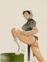 Chunli Super Legs by eniohide