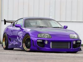 Just Another Custom Supra by Ditto-kun