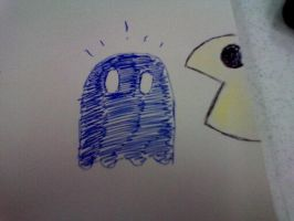 Crappy pac man by AKUMASCRBL
