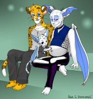Cute Family - zooni by MPregFans