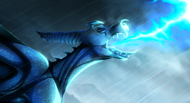 Raining Fire by Diagon-and-Draco