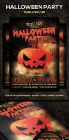 Halloween Party Flyer by PixelladyArt