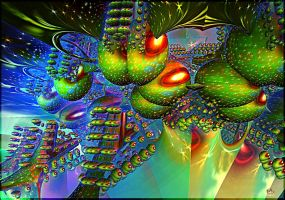 Fractal  World of Udacian by DorianoArt