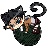 Neko Levi by FunnyScared