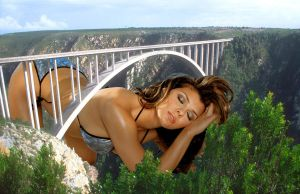 Ali Landry Under The Bridge by Accasbel