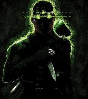 MS Paint Sam Fisher by SinglePost