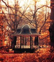 Autumn Gazebo by Peterix