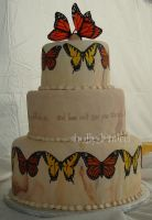 butterfly cake by ilexiapsu