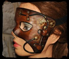 steam half mask by Lagueuse