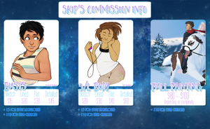 Commission Price Sheet by Skippocalypse