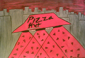 Pizza Hut UFO by Bowser81889