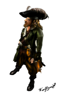 Hector Barbossa PNG Poser by KomyFly