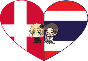 DenThai Shimeji Heart by LadyAxis