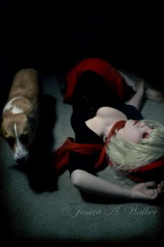 Red riding hood by PorcelainPoet