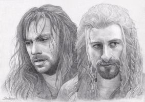 Fili and Kili II by Shishkina