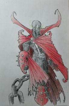 Spawn (coloured) by thelost544