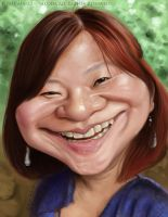 Yonie caricature 2 by Jubhubmubfub