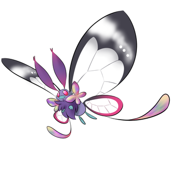 Mega Butterfree concept by duducaico