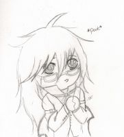 Pouty Grell by CrystalizedBlood