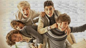 One Direction Wallpaper 01 by gahhstar